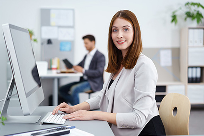 Office and technology employee